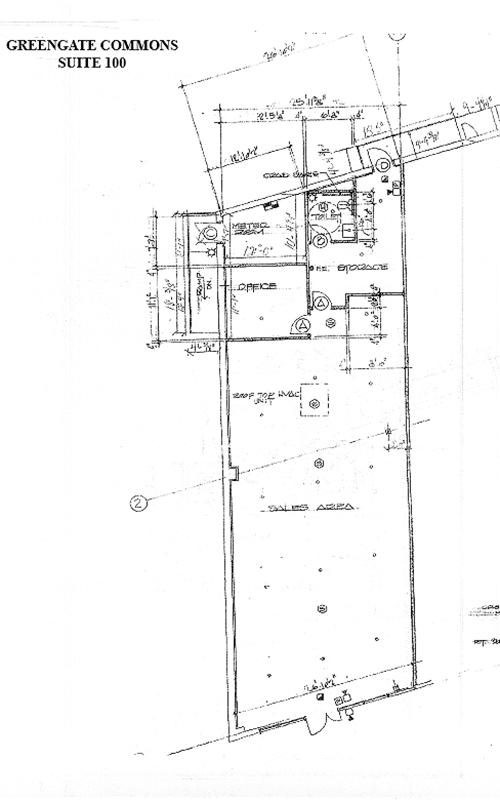 Greengate Commons floor-plans suite 100