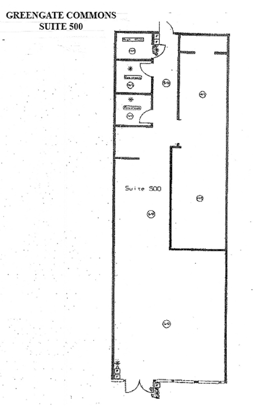 Greengate Commons floor-plans suite 500