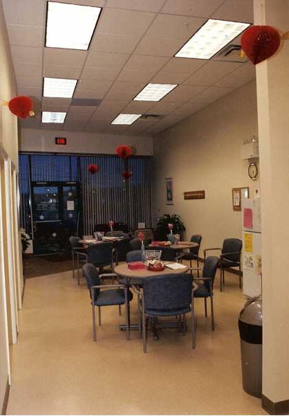 Store interior