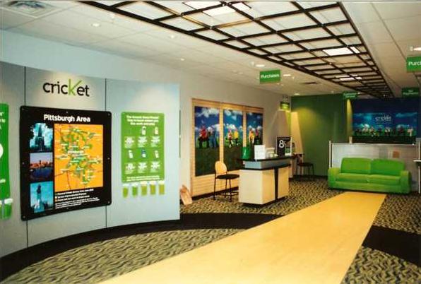 Modern retail space