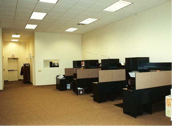Working office space