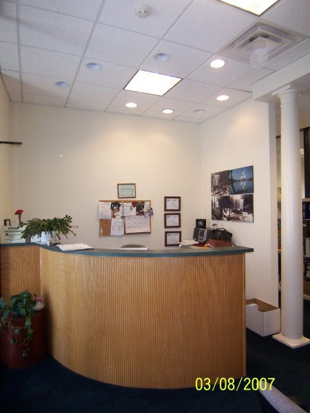 Office with Reception space
