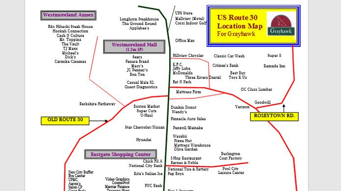 Route 30 Map